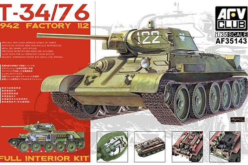 AFV Club - T-34/76 Mod. 1942 Factory 112 1/35