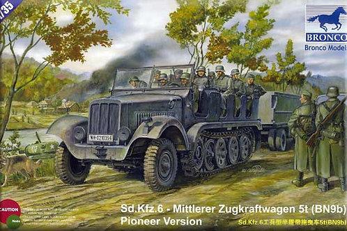 Bronco - Sd.Kfz. 6 Mittlerer Zugkraftwagen 5t 1/35