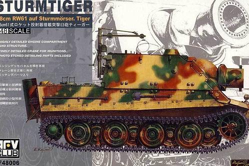 AFV Club - Sturmtiger 38cm RW61 auf Sturmmörser