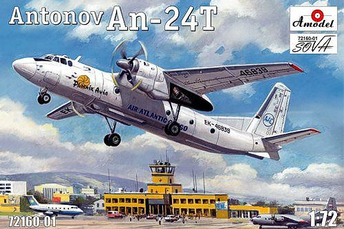Amodel - Antonov An-24T Phoenix Aviation 1/72