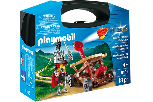 Playmobil 9106 Knights - Knight's Catapult Carry Case