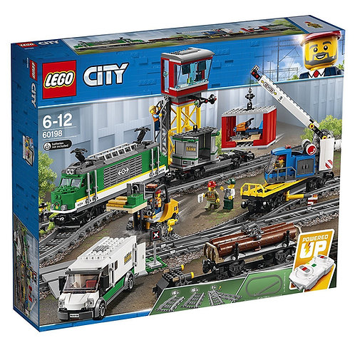 Lego 60198 City - Cargo Train
