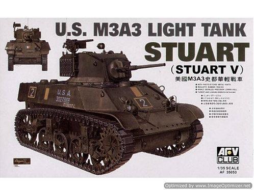 AFV Club - M3A3 Stuart Light Tank (Stuart V) 1/35