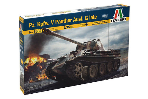 Italeri - Pz.Kpfw.V Panther Ausf.G Late 1/35