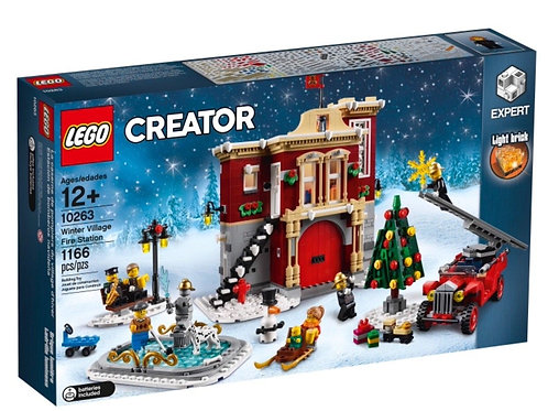 Lego 10263 Creator Expert - Winter Village Fire Station