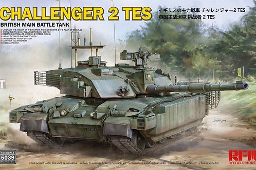 Rye Field Model - British MBT Challenger 2 TES 1/35