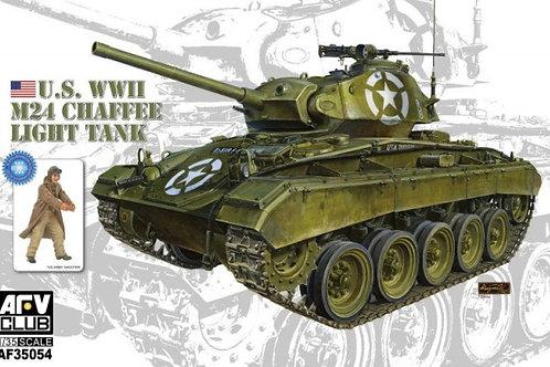 AFV Club - US Army M24 Chaffee Light Tank 1/35