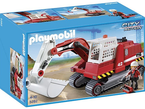 Playmobil 5282 City Action - Construction Excavator