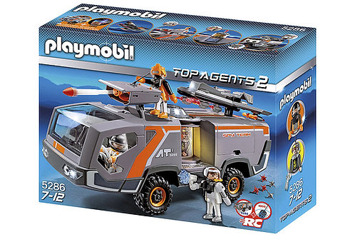 Playmobil 5286 Top Agents - Top Agents Command Vehicle