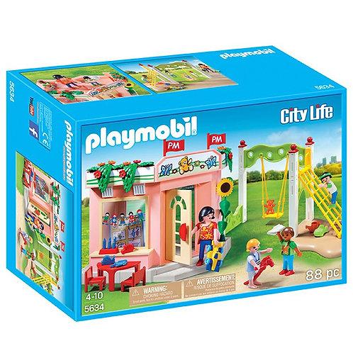 Playmobil 5634 - Preschool with Playground