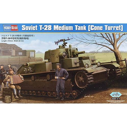 Hobby Boss - Soviet T-28 Medium Tank 1/35