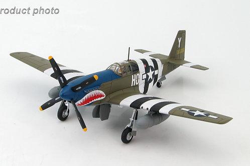 Hobby Master - P-51B Mustang 43-6506 Blue Nose Bastards of Bodney 487th FS 1/48