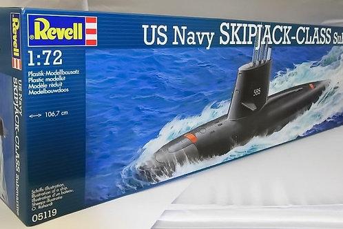 Revell - U.S. Navy Skipjack-Class Submarine 1/72