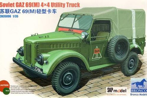 Bronco - Soviet GAZ 69(M) 4x4 Utility Truck 1/35