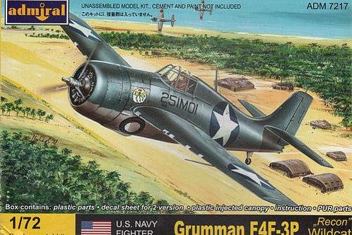 Admiral - F4F-3P Recon Wildcat 1/72