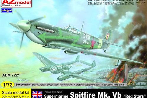 "AZ Models - Supermarine Spitfire Mk.VB ""Red Stars"""