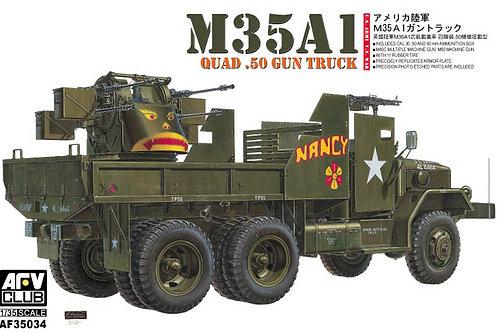 AFV Club - M35A1 Quad .50 Gun Truck 1/35