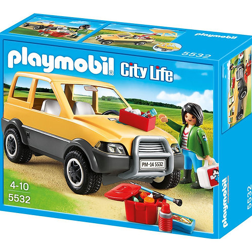 Playmobil 5532 City Life - Vet with Car