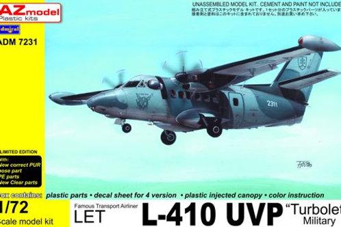 AZ Models - L-410UVP Military w/PE parts 1/72