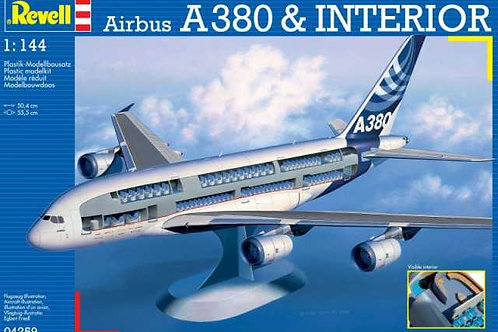 Revell - Airbus A380 & Visible Interior 1/144