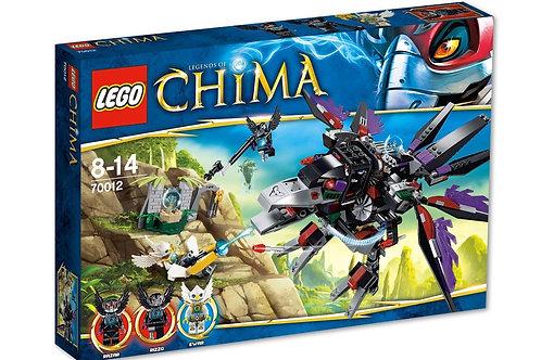 Lego 70012 Legends Of Chima - Razar's Chi Raider