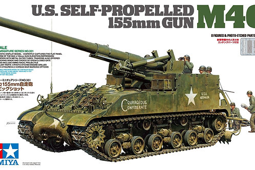 Tamiya - US Self-Propelled 155mm Gun M40 1/35