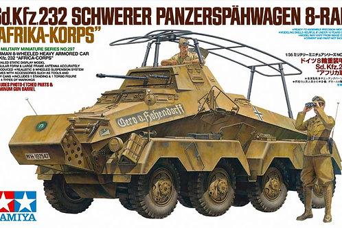 Tamiya - Sd.Kfz.232 Schwerer Panzerspähwagen 8-Rad 1/35