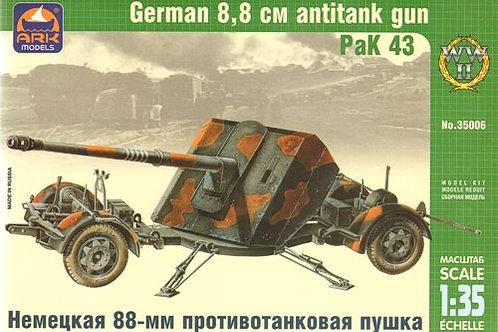 Ark Models - PaK 43 German 8.8cm Anti-tank Gun