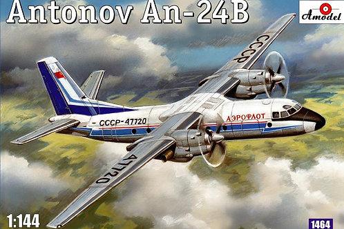 Amodel - Antonov An-24B 1/144