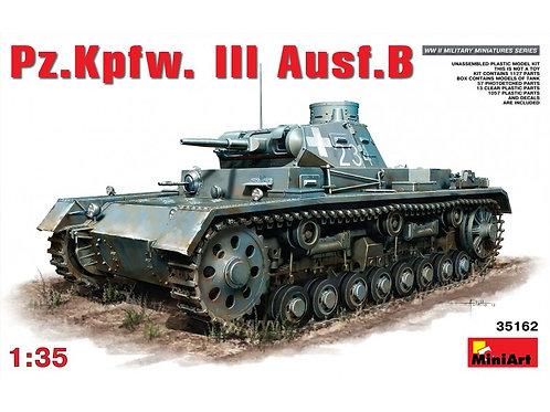 MiniArt - German Pz.Kpfw.III Ausf.B 1/35