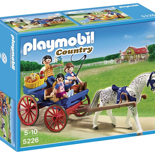 Playmobil 5226 - Pony Farm Horse Drawn Carriage