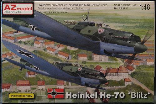 """AZ Model - Heinkel He-70 E/F """"Blitz"""" 1/48"""