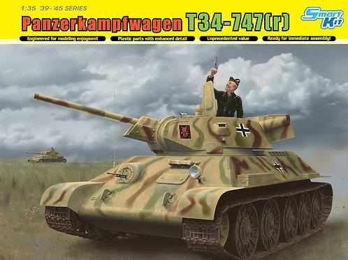 Dragon - Panzerkampfwagen T34-747(r) 1/35