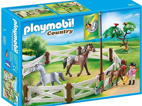 Playmobil 6931 Country - Horse Paddock