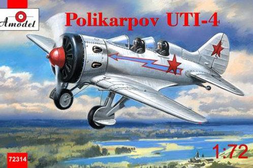 Amodel - Polikarpov UTI-4 1/72