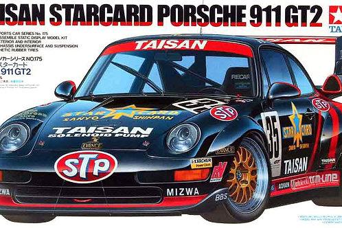 Tamiya - Taisan Starcard Porsche 911 GT2 1/24