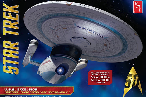 AMT - Star Trek USS Excelsior NCC-2000/NX-2000 1/1000