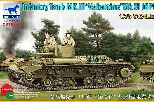 Bronco - Infantry Tank Mk. III Valentine Mk. XI