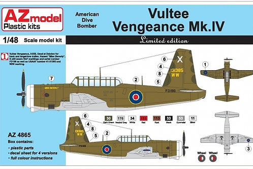 AZ Model - Vultee Vengeance Mk.IV 1/48