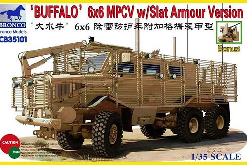Bronco - Buffalo 6x6 MPCV Slat Armour Version 1/35