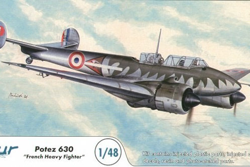 Azur - French Heavy Fighter Potez 630 1/48