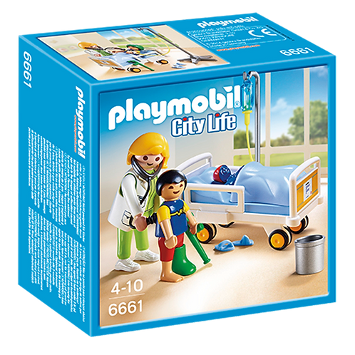 Playmobil 6661 - Children's Hospital Doctor with Child