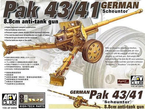 AFV Club - PAK 43/41 Scheuntor 8.8cm Anti-tank Gun