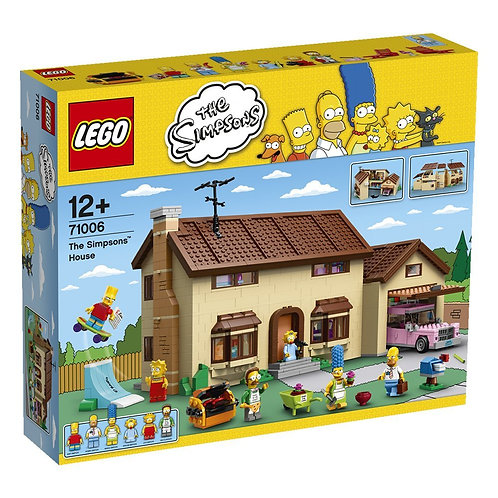 Lego 71006 - The Simpsons House