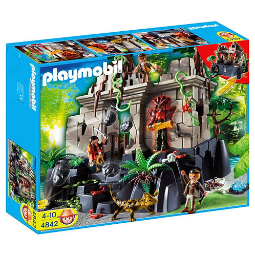 Playmobil 4842 - Treasure Temple with Guards