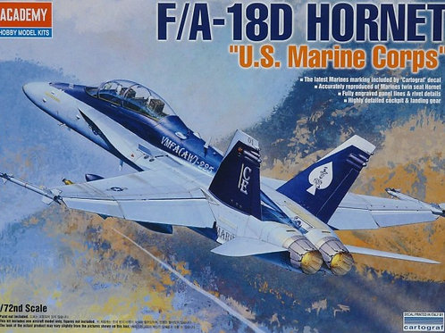 Academy - F/A-18D Hornet USMC 1/72