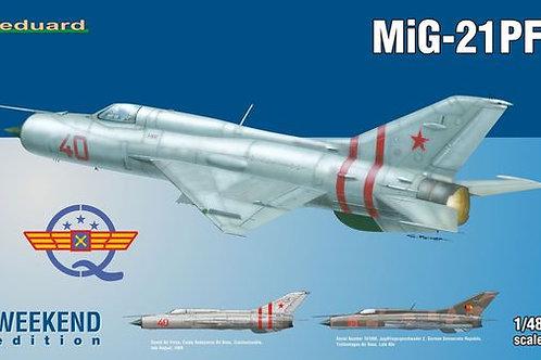 Eduard - Mikoyan MiG-21PF 1/48