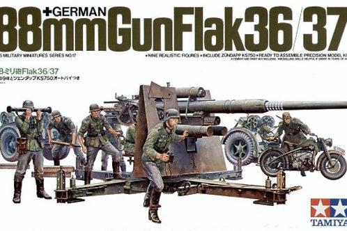 Tamiya - German 88mm Gun Flak 36/37 1/35