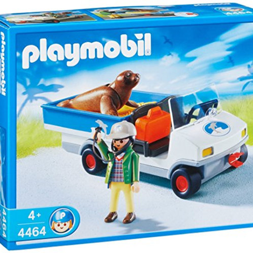 Playmobil 4464 - Zookeeper Caddy With Seal