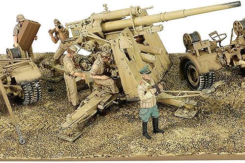 Forces of Valor - Krupp 88mm Flak 18 German Army DAK 1/32